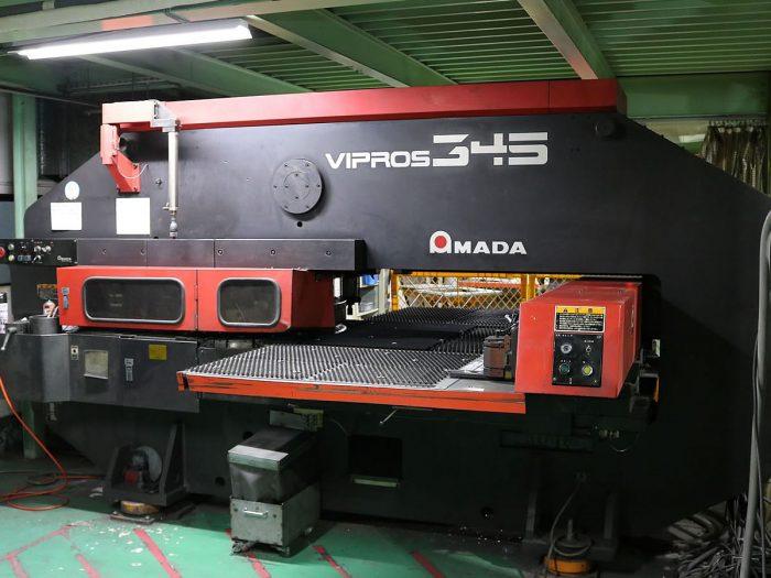 ターレットパンチプレス VIPROS-345